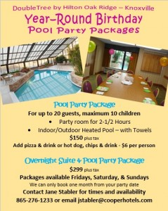 Pool Party Doubletree